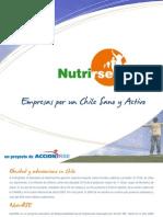 Brochure Nutrirse 2009