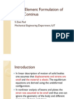 09 - Finite Element Formulation of Solid Continua
