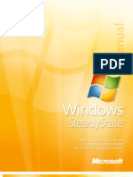Windows Steady State Handbook