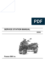 Fuoco 500 Service Station Manual
