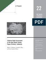 A Marine Rapid Assessment of the Raja Ampat Islands