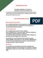 Procesador de Texto Daniel Rojas 11-2