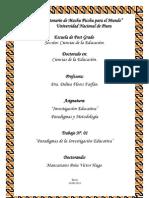 T1. Paradigma de la Investigación