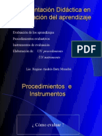 Herramientas e Instrumentos de Evaluacion 1