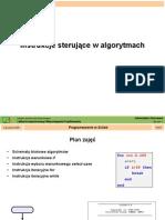 Instrukcje sterujące-SciLab