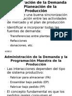 Administración de la Demanda y la Planeación de