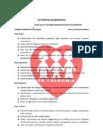 Propuesta de Jóvenes, Unidad Educatica Humberto Portocarrero