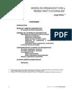 1 Hintze Jorge - Modelo Organizativos y Redes Instittucionales