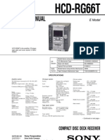 9553 Sony HCD-RG66T Sistema de Audio Con CD-Casette Manual de Servicio