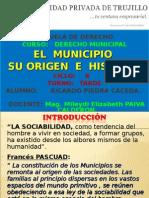 El Municipio Su Origen e Historia Trabajo Pendiente Expo Sic Ion