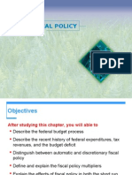 Lect 4.1Fiscal Policy