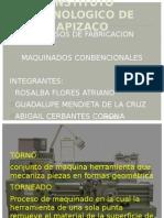 MAQUINADOS COMBENCIONALES