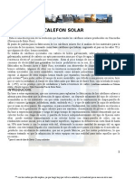 CALEFONES SOLARES modificado