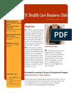 Newsletter Oct 16