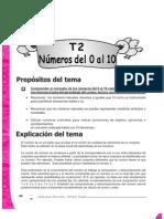 Guia Para Docentes Matematica 1 - Tema 2 - Numeros Del 0 Al 10