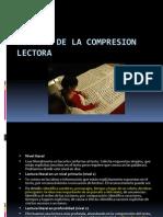 Niveles de La Com Pres Ion Lectora