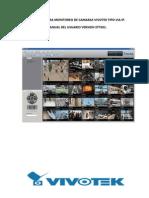 Software Para Monitoreo de Camaras Vivotek Tipo via Ip