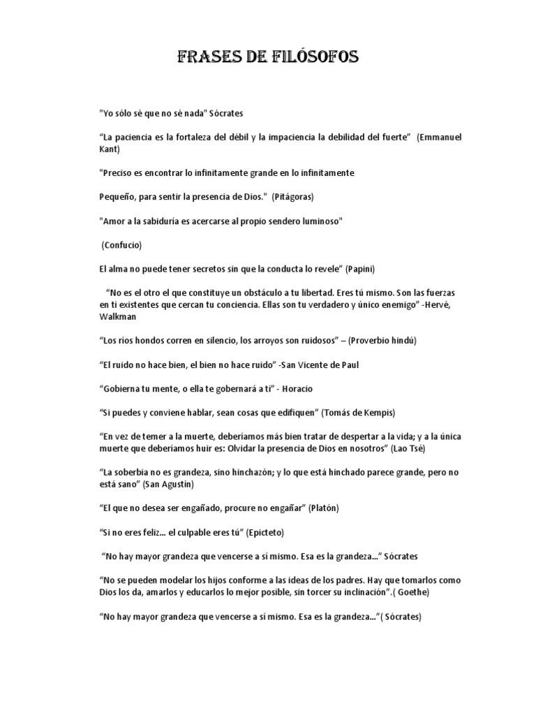 Frases De Filósofos De Maria Bazurto