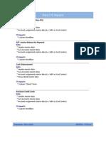FI CO Processes