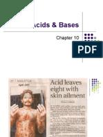 Ch 10 Acids & Bases