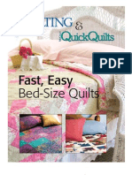 Three Quick Easy Quilt Patterns