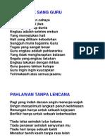 Puisi Untuk Guru & Ibu