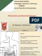 Procesos Gastrointestinales, Hepáticos y Páncreas