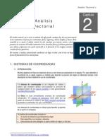 Modulo de Fisica i - Analisis Vectorial