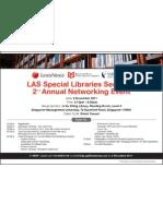 LAS Event E-Invitation Card