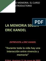 MEMORIA KANDEL