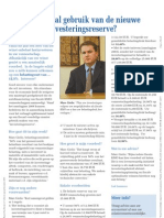 Investeringreserve-artikelBVB