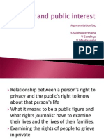 Privacy and Public Interest[1]
