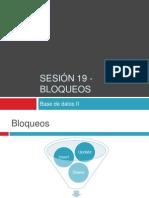 Uninter - BD2 - sesión 19 - bloqueos