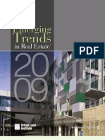 Emerging Trends in Real Estate 2009