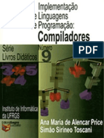 Implementação de Linguagens de Programação - Compiladores. Price e Toscani (2001, 103p)