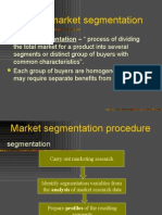 mkt_ segmentation unit - II