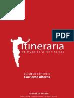 ITINERARIA 10 mujeres 2 territorios