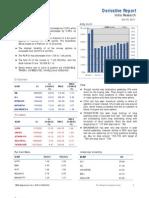 Derivatives Report 18th October 2011