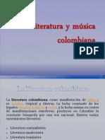 Literatura y música colombiana
