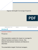 Signal Strength Coverage Aspects-R10