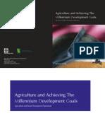 Agricultural Millenium Development Goals