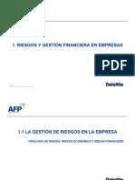 Los Riesgos Financieros en La Empresa