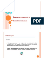 Bases Geoprocessamento