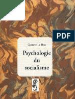 Le Bon - Psychologie Du Socialisme