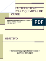 Caracteristicas Fisicas y Quimicas de Vapor