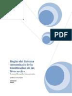 Reglas del Sistema Armonizado de la Clasificación de las Mercancías