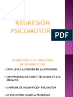 Regresión psicomotora