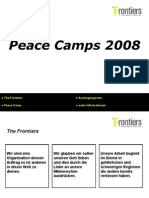 Peace Camps 2008 (German)