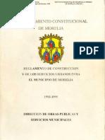 REGLAMENTO DE CONSTRUCCIÓN DE MORELIA