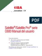 Manual de Usuario c605 Sp4101l